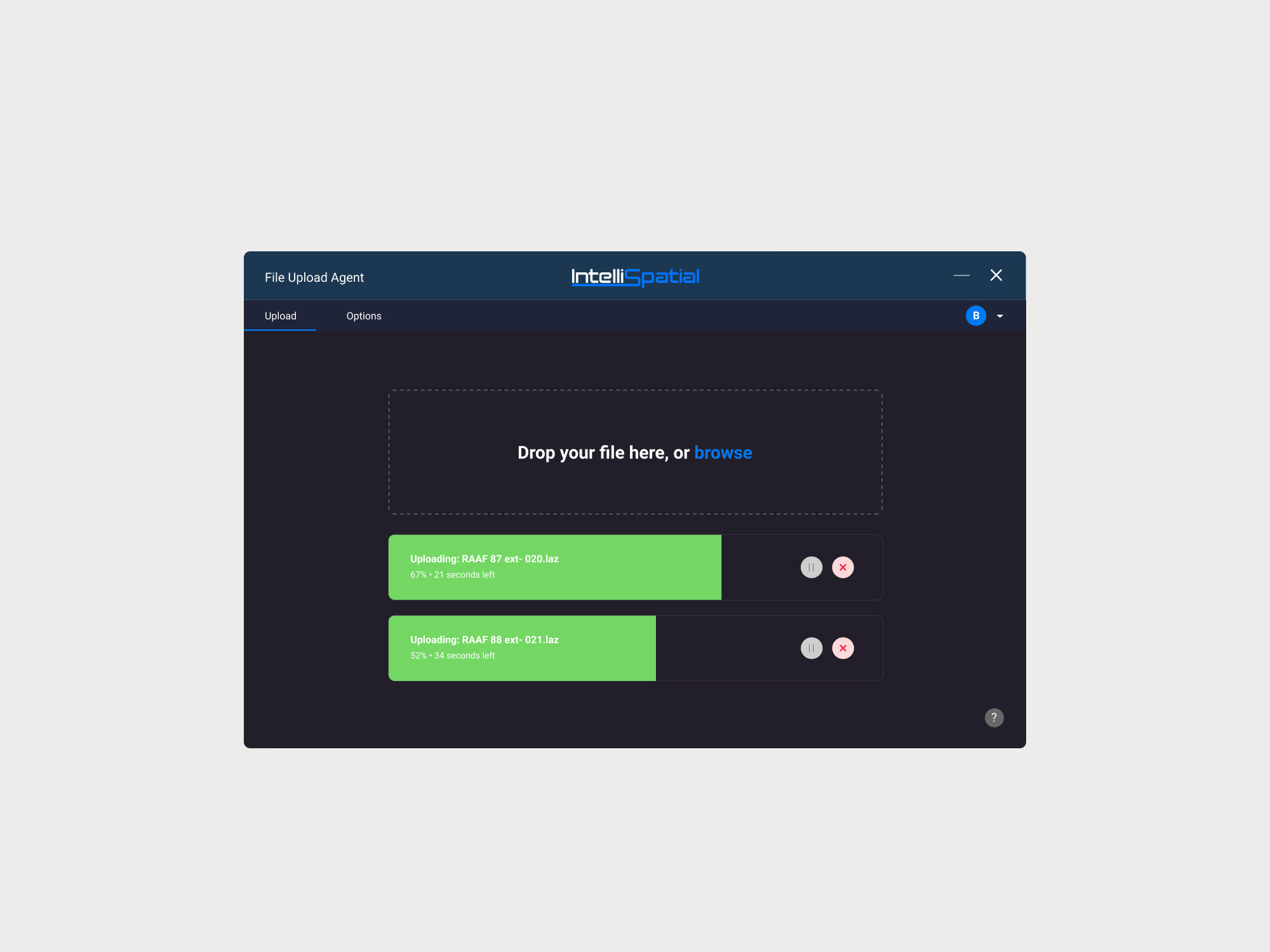 File Upload UI