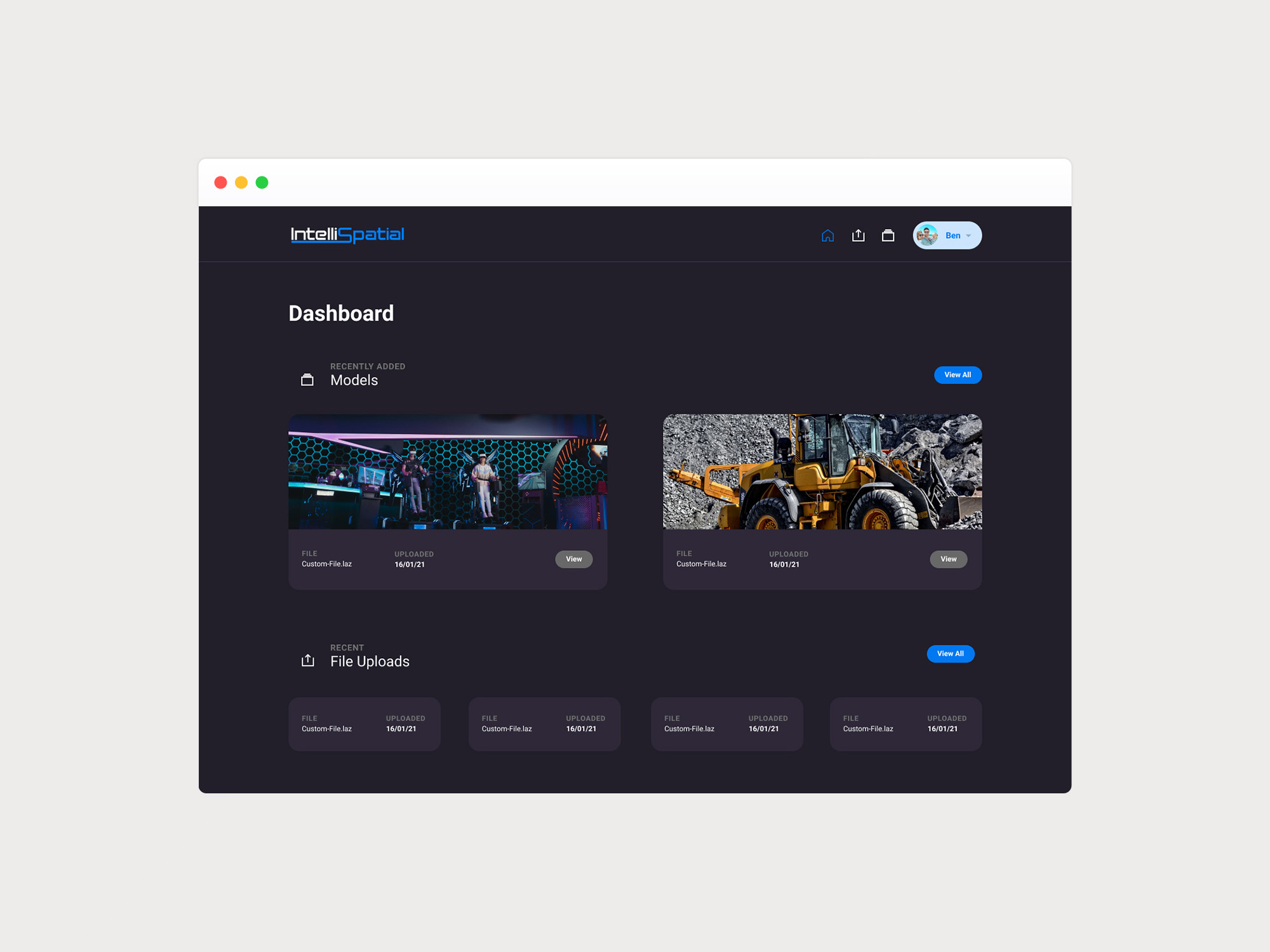 Portal Dashboard UI