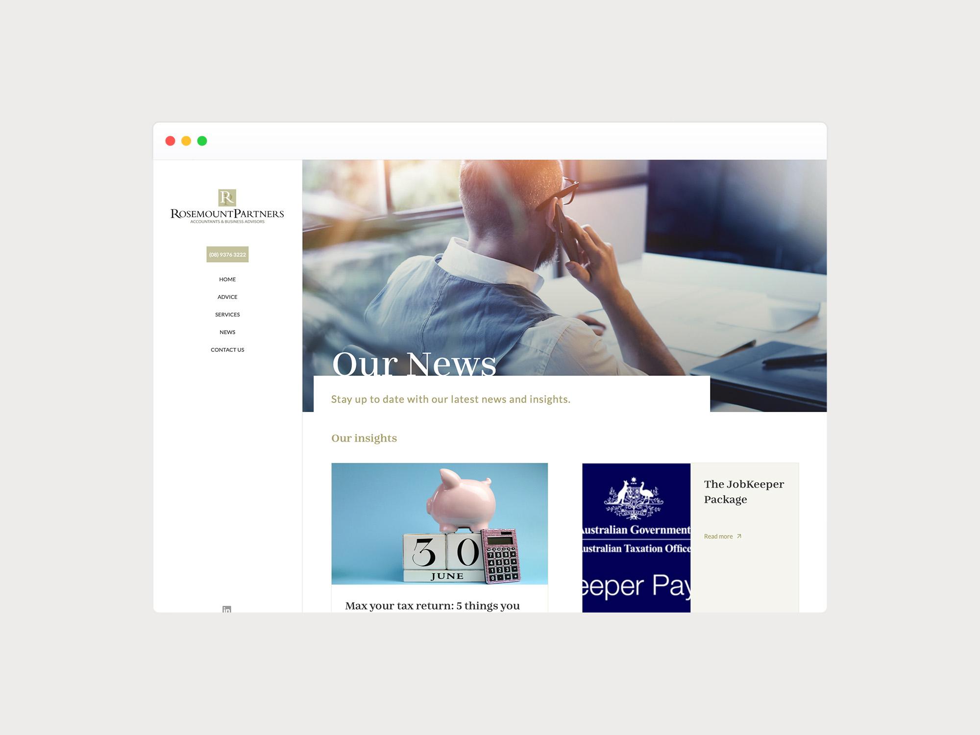 News Archive Design