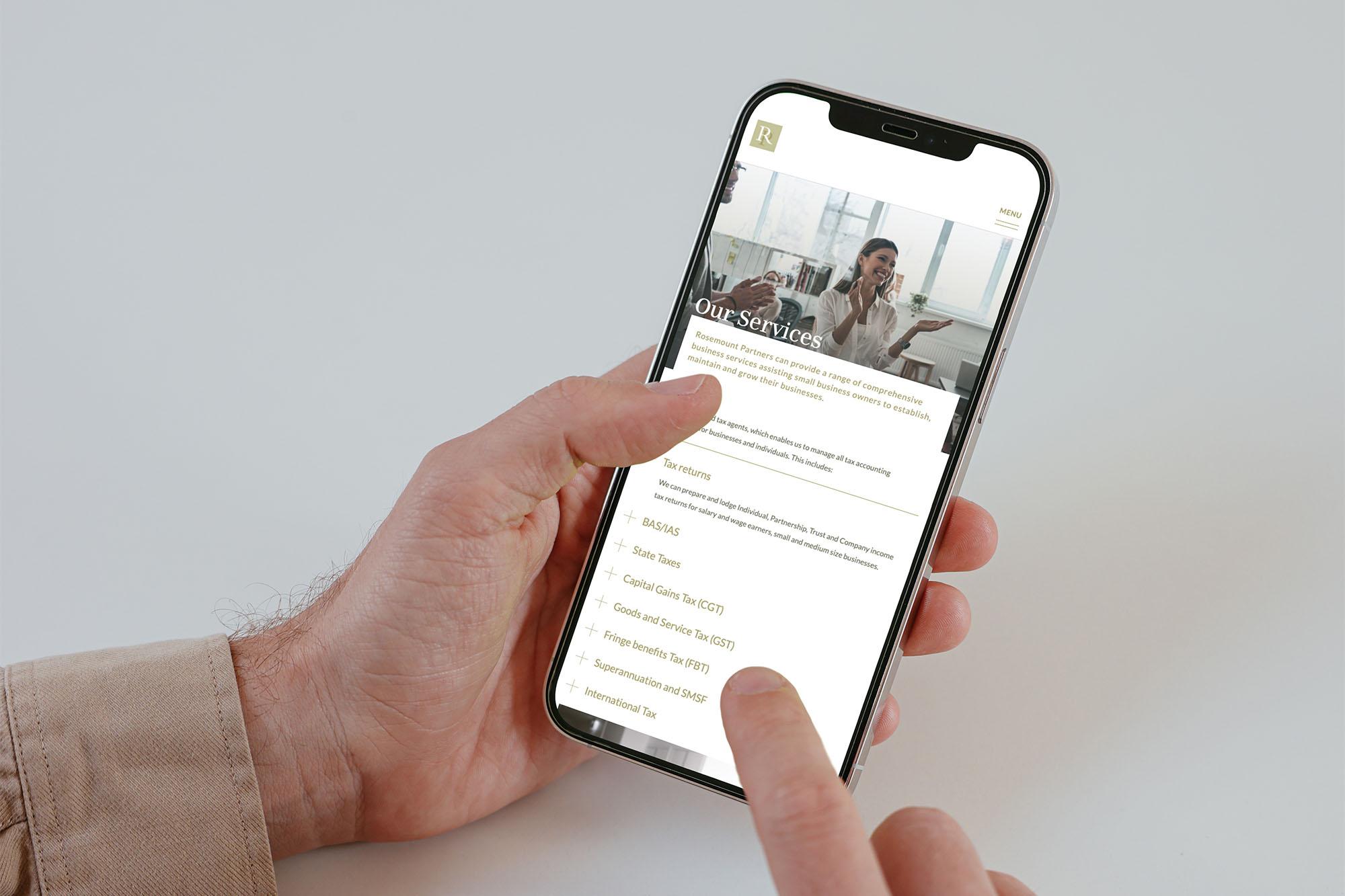 Services Page Design