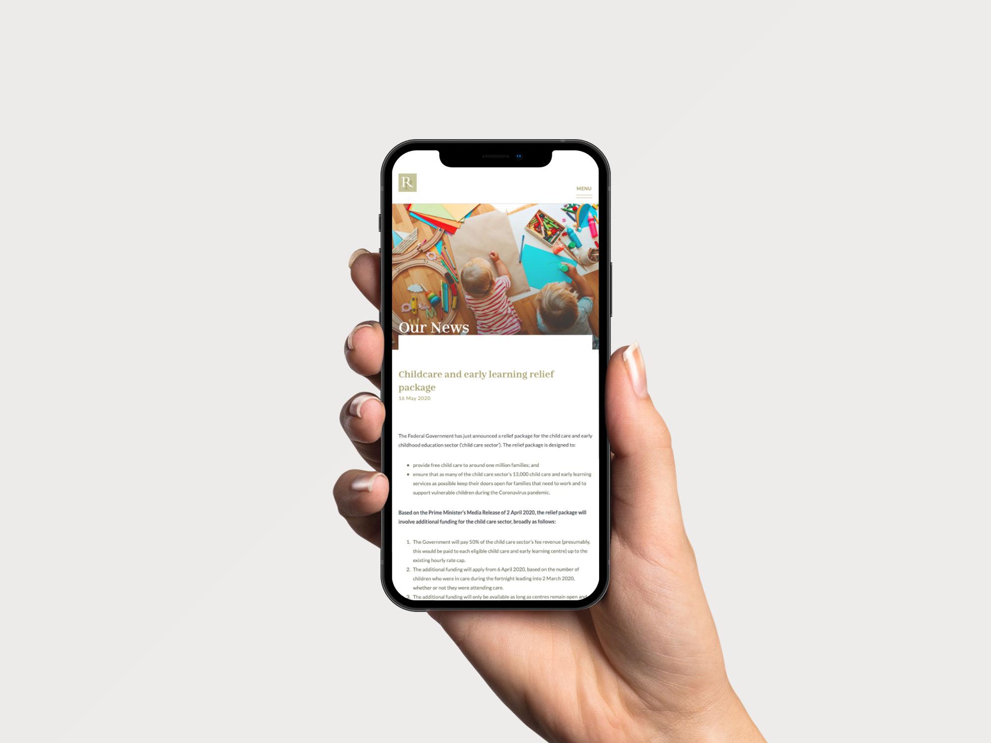 News Article Design